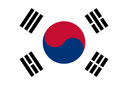 south korea flag icon 128
